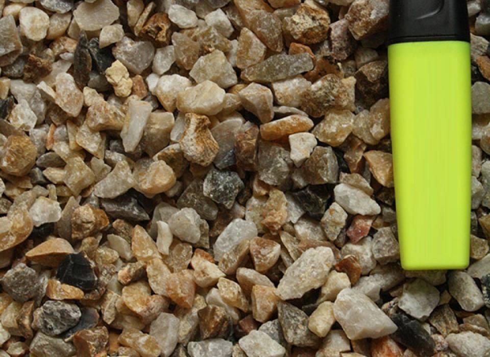 Carrière de granulats bordeaux